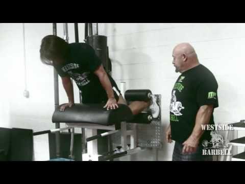Legend Fitness Westside Barbell Glute Ham Calf Developer - YouTube