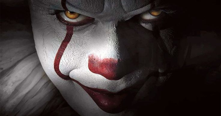 Pennywise the Clown Revealed in Stephen King's IT Remake -- Get your first look at Bill Skarsgard as Pennywise the Clown, along with more insight into this terrifying character in Stephen King's IT. -- http://movieweb.com/pennywise-clown-it-remake-2017-stephen-king/
