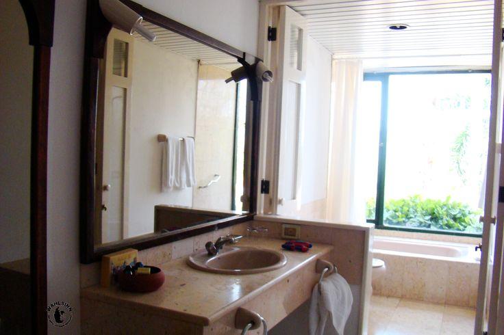 Badezimmer im Hotel Moka // Las Terrazas (Kuba)