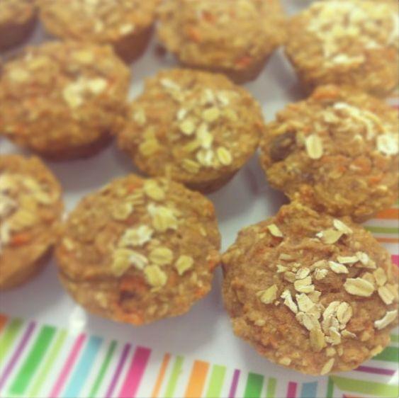 Gluten-free & Dairy-free Morning Glory Muffins