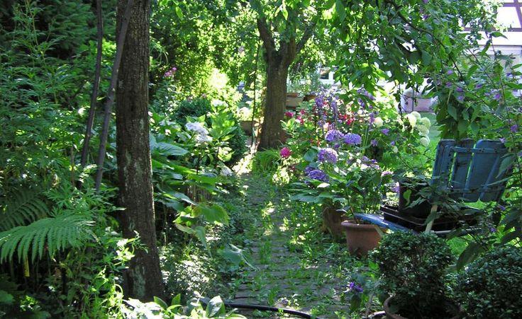 schattengarten planen anlegen und tipps schattengarten g rten und kleiner stadtgarten. Black Bedroom Furniture Sets. Home Design Ideas