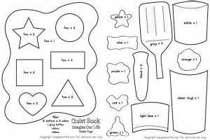 Cookie Shapes & Colors Quiet Book