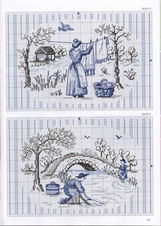Gallery.ru / Фото #58 - De fil en Aiguille Carnet de Broderie 5-09 - Labadee
