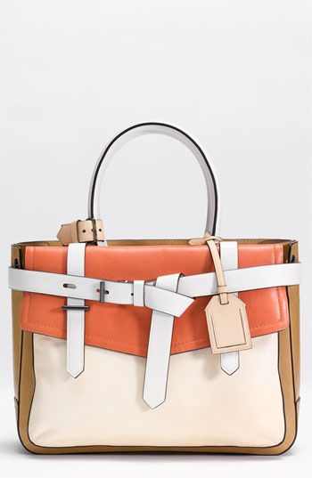 Bags!: Bags Pur Y, Leather Satchel, Colors Combos, Bagspursesi Plea, Dreams Closet, Krakoff Boxers, Perfect Structure, Tricolor Leather, Work Bags