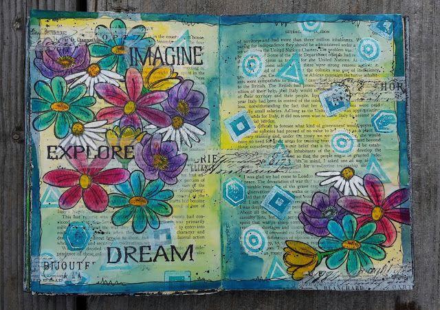 Anette's Scrapblog: Wild flowers