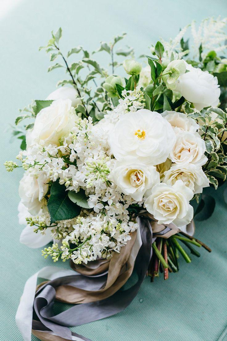 woodsy white florals