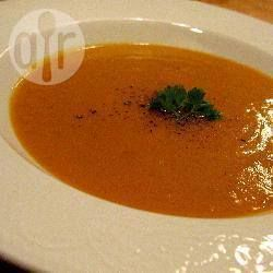 Pumpkin and Boursin soup