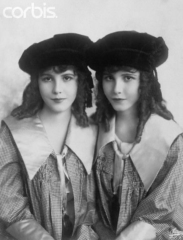 The Fairbanks Twins - C. 1922  (Via Corbis Images)