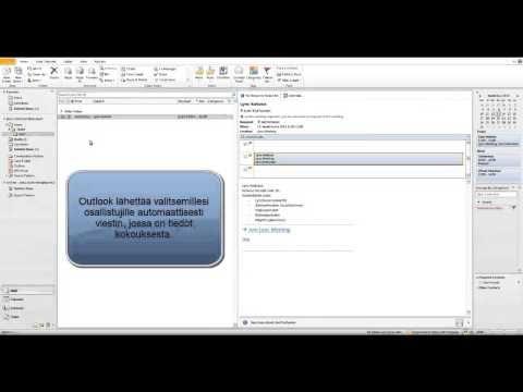 Lync 2013 - Kokouksen pitämiseen liittyvät ohjeet - YouTube