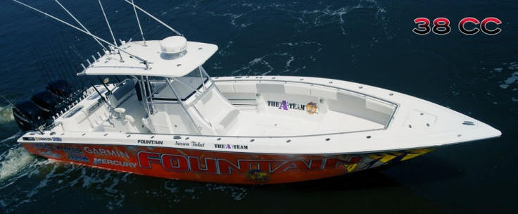 New 2012 Fountain Boats 38 CC Express Fisherman Boat