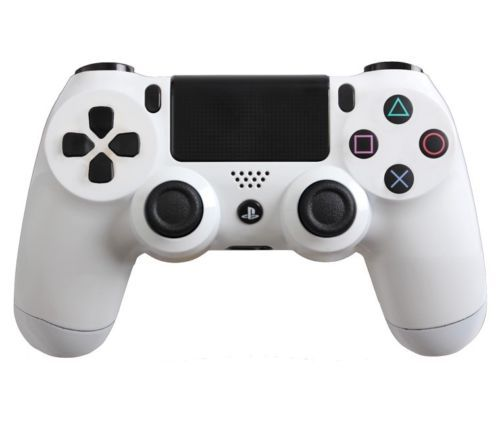 PlayStation 4 DualShock 4 Custom PS4 Controller with Glossy White Shell |#Playstation4controller #dualshock4