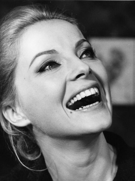 Virna Lisi (1936-2014) - Italian actress. Photo by Pierluigi Praturlon, 1965