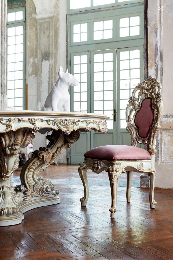 125 best silik images on pinterest classic furniture for Barock sofa weiay