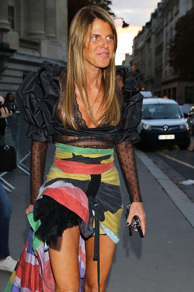 Anna Dello Russo at Nina Ricci Fashion Show in Paris Oct-2016 Celebstills A Anna Dello Russo