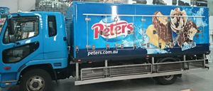 Truck Wraps - PETERS Vic