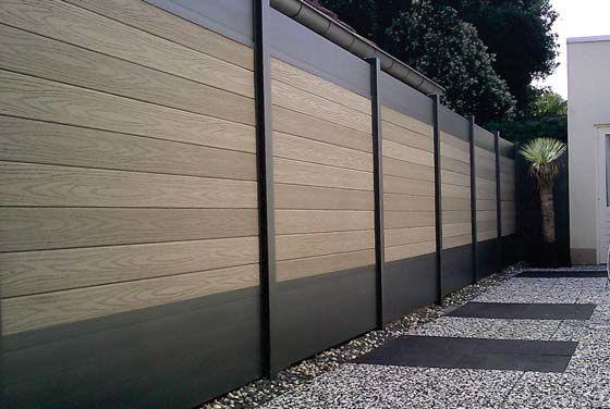 1000 ideias sobre portail et cloture no pinterest for Palissade en pvc jardin