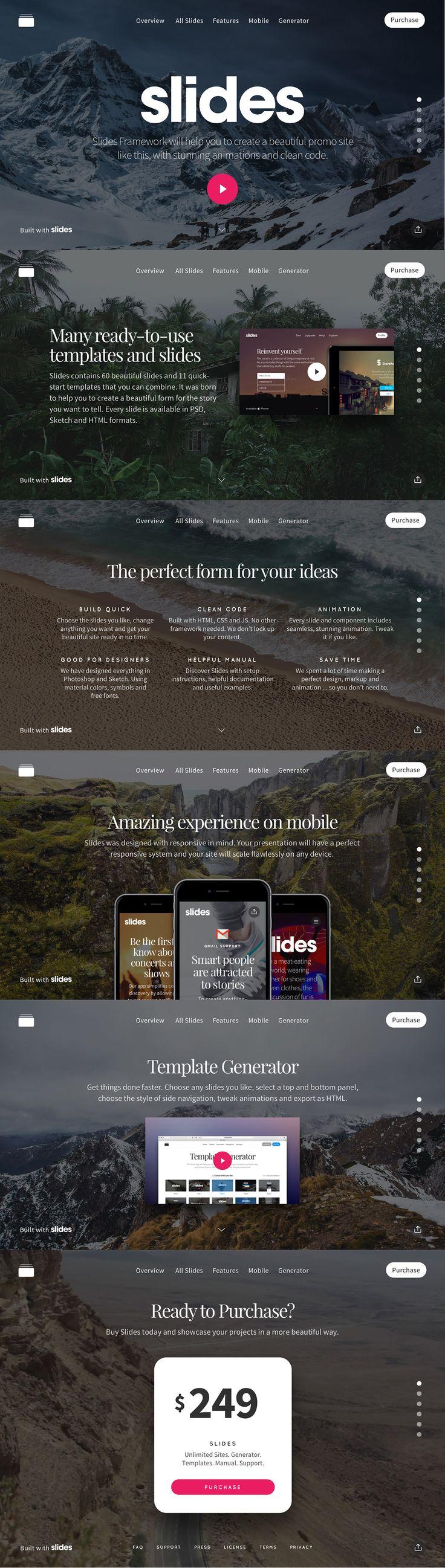 419 best User Interface & Web Design Inspiration images on Pinterest
