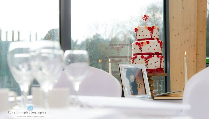 A professional photo taken by Tony Dunn Photography - cake looks so much better