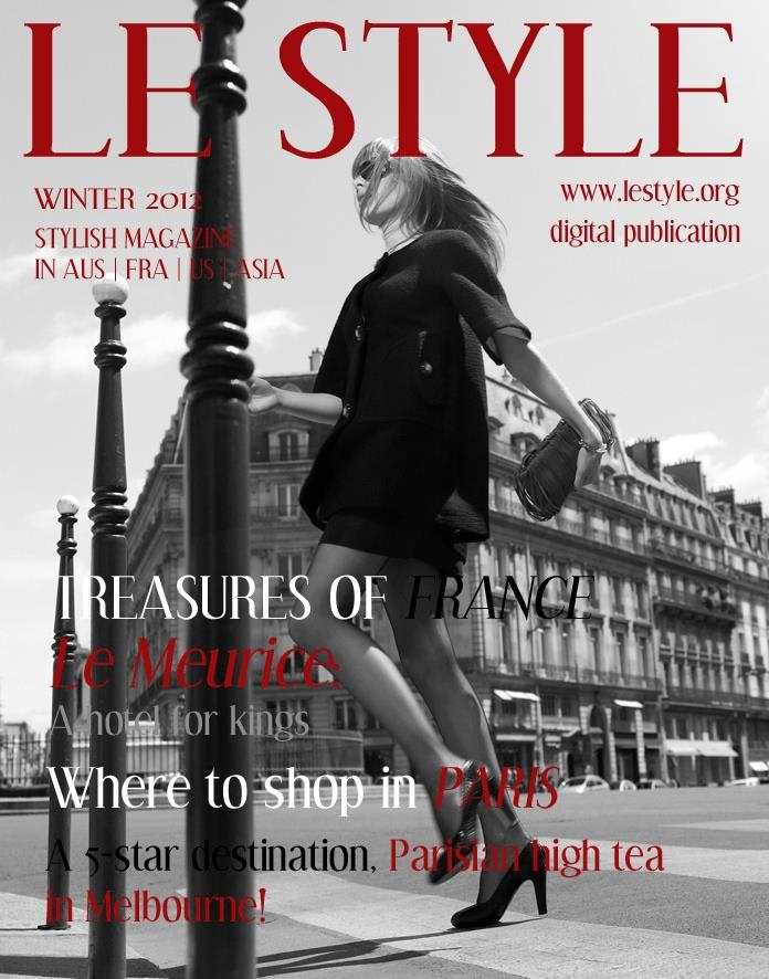 Le Style Digital Magazine - Winter Edition 2012 www.lestyle.org