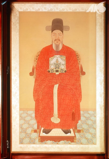 [Middle Ages-Joseon] Portrait Yi Sun-sin Admiral who defeated Japanese naval forces during the Imjin War