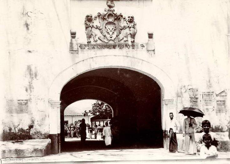 Dutch fort Galle
