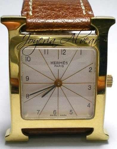 Auitentico Reloj Hermes H * Modelo Hh1-510 Flamante