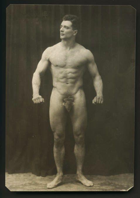 vintage nude bodybuilder
