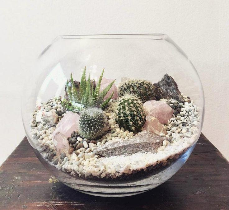 Fabriquer un terrarium : les éléments à inclure dans chacune des couches + 10 terrariums fabuleux que vous pouvez réaliser vous-même en quelques étapes faciles!