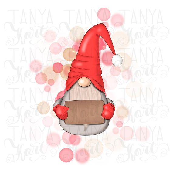 Gnome For Christmas Instant Download Digital Design Etsy Gnomes Happy Planner Stickers Printing On Fabric