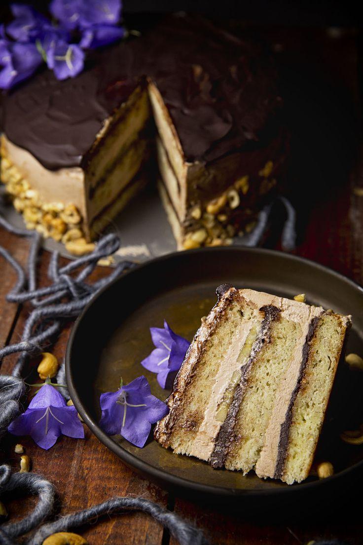 St[v]ory z kuchyne | Banánovo - Nutellová torta