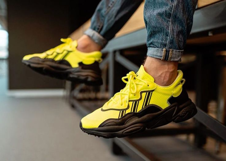 Adidas Ozweego Is Releasing In Solar Yellow Wassupkicks White Jordan Shoes Adidas Tall Men Fashion
