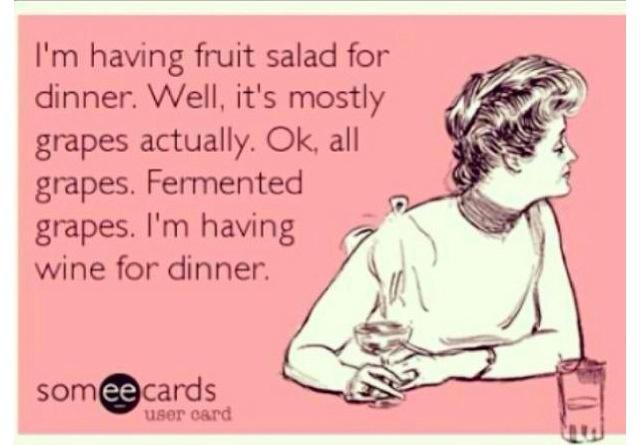 Quando si dice mangiare sano!