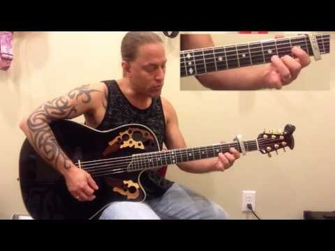 """How to play """"Wagon Wheel"""" by Darius Rucker - Guitar Lesson - YouTube"""