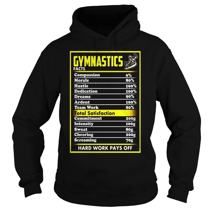 FUNNY GYMNASTICS FACTS T SHIRT FOR GYMNASTICS FANS