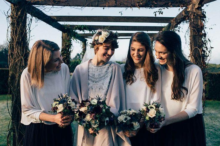 Las novias de invierno están más de moda que nunca. Descubre esta sorprendente boda de invierno. Bodas reales.piración bodas