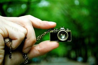 Una macchina fotografica davvero piccola :)