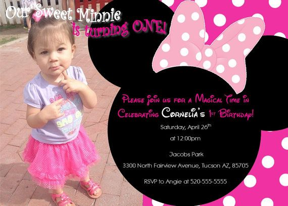 53 best Birthday Invitations images – Toddler Girl Birthday Invitations