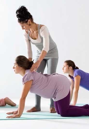 Yoga e gravidanza: La posizione del Gatto