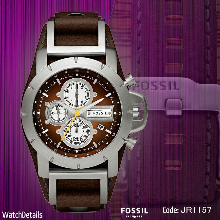 Check out Men's Watch Strap Brown Jake Chronograph JR1157 http://goo.gl/baaPM0 #watch #watches #watchesformen