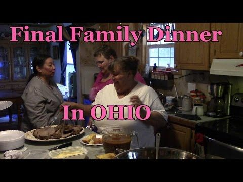 ▶ Final Family dinner Before We Leave Ohio - Yorkshire Pudding in stand mixer