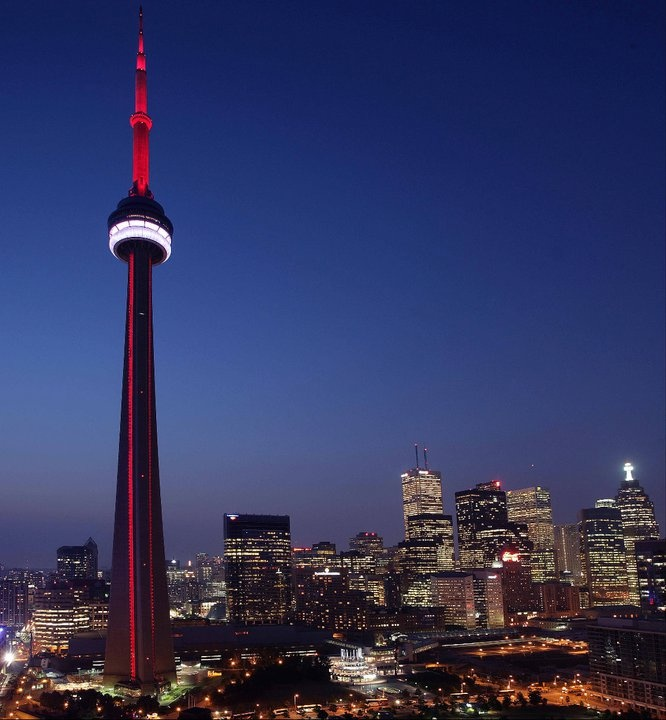 Collecting an entire collection of photos and renderings about Toronto's CN Tower.    www.yongeandrich.com