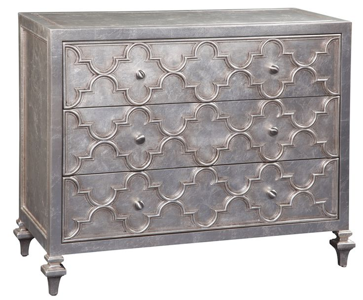 "This Emerson et Cie - Signature Collection Accent Furniture Darrien 3 Drawer Chest is glamour at its finest. Channel ""Old Hollywood Glamour"" in your home!"