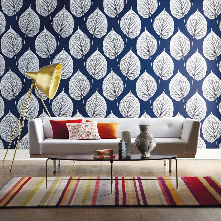 Harlequin - Designer Fabrics and Wallcoverings | Products | British/UK Fabrics and Wallpapers | Leaf (HMOT110371) | Momentum Wallcoverings V...