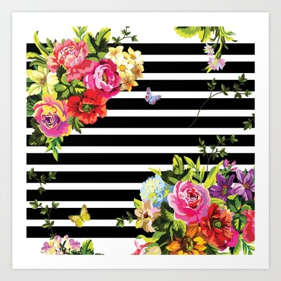 https://society6.com/product/stripes-floral_bag?curator=bestreeartdesigns.  $18