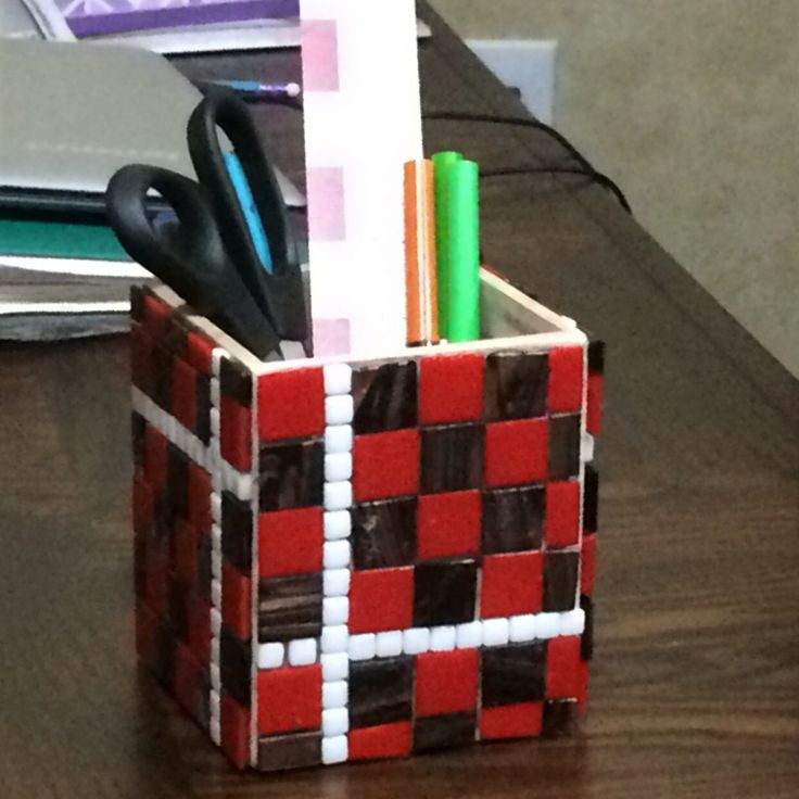 Check out our newest listing. A DIY Mosaic Kit that will result in a fun and beautiful pen/pencil/remote holder you can proudly display. Choose the color of the tiles to customize to your decor. Or give as a gift 🎁