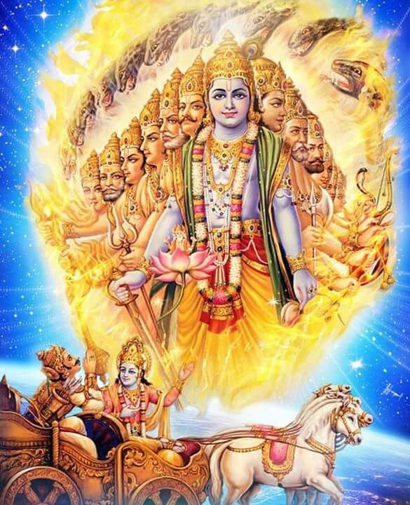 krishna vishwaroopam
