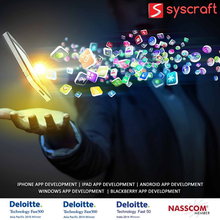 Smart phones have changed the concept of staying connected in a way that few could ever imagine even ten years ago. It is virtually acting as your computer that you can carry easily. To reinvent this reality, work with the best Mobile App Development company. Syscraft provide world-class mobile app development services. We have dedicated teams for iOS (iPhone & i-Pad apps), Android, Blackberry and Windows. http://www.syscraftonline.com/services/mobile-apps/