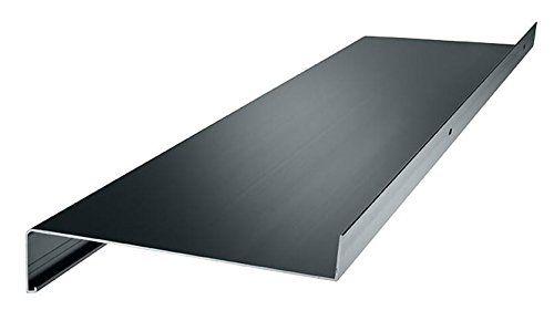 "Aluminium Window Sill Window Board Swing 10.24"" Cut to Custom Size White Silver Dark Bronze Anthracite - Aluminium, 78.74"", anthracite (RAL 7016): Amazon.co.uk: DIY & Tools"