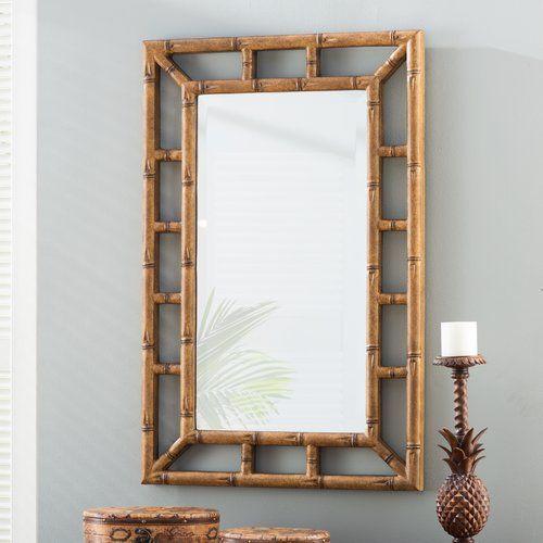 Found it at Joss & Main - Tyrone Bamboo Wall Mirror