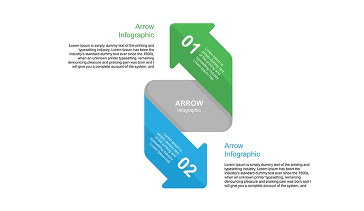 PowerPoint Arrow Download Now! Editable shape, full customization, 2 click change color and resize, editable text. Support 24/7. #arrow #3d #infographic #ppt #powerpoint